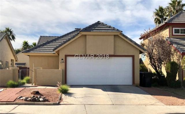 1696 Duarte, Henderson, NV 89014 (MLS #2048281) :: The Snyder Group at Keller Williams Marketplace One