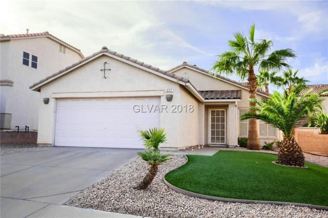 177 White Butte, Henderson, NV 89012 (MLS #2048685) :: The Snyder Group at Keller Williams Marketplace One