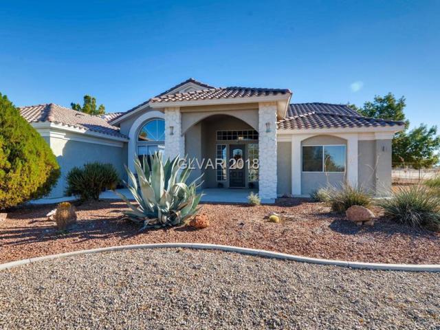 3271 S Unicorn, Pahrump, NV 89048 (MLS #2048778) :: The Machat Group | Five Doors Real Estate