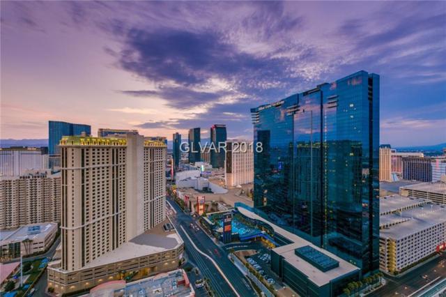 125 E Harmon 3301 & 3303, Las Vegas, NV 89109 (MLS #2049383) :: Sennes Squier Realty Group
