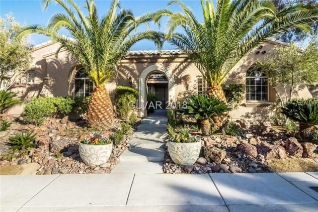 4138 Bacio Bello, Las Vegas, NV 89135 (MLS #2049426) :: The Snyder Group at Keller Williams Marketplace One