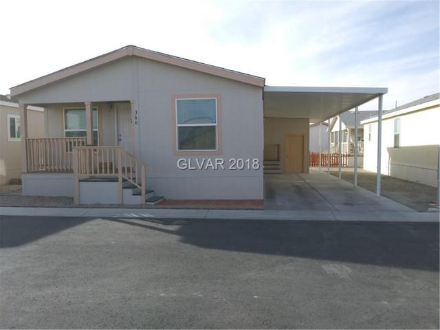 360 S St Andrew, Pahrump, NV 89048 (MLS #2049936) :: The Snyder Group at Keller Williams Marketplace One