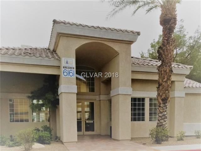6164 Calm Breeze #103, Las Vegas, NV 89108 (MLS #2050143) :: The Snyder Group at Keller Williams Marketplace One