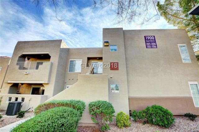1900 Desert Falls #103, Las Vegas, NV 89128 (MLS #2050911) :: Vestuto Realty Group