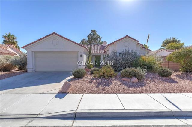 4821 Crimson Glory, Las Vegas, NV 89130 (MLS #2051273) :: The Snyder Group at Keller Williams Marketplace One