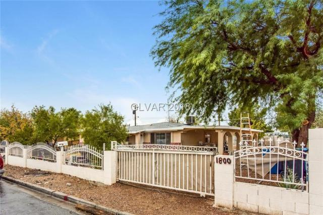 1800 Mesquite, Las Vegas, NV 89101 (MLS #2052074) :: The Snyder Group at Keller Williams Marketplace One