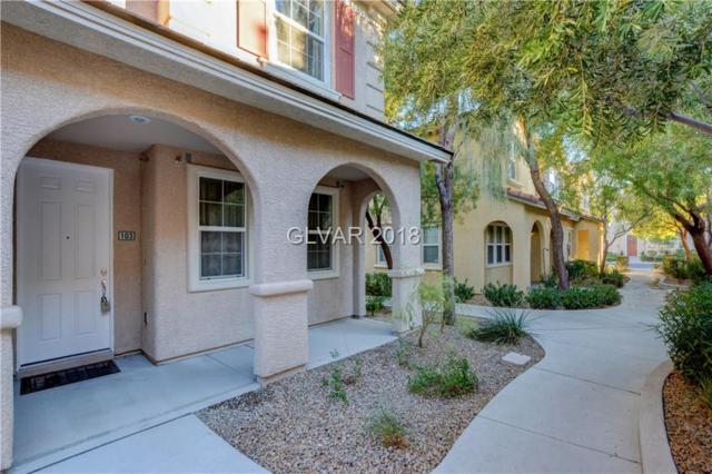 8443 Classique #103, Las Vegas, NV 89178 (MLS #2052281) :: Sennes Squier Realty Group
