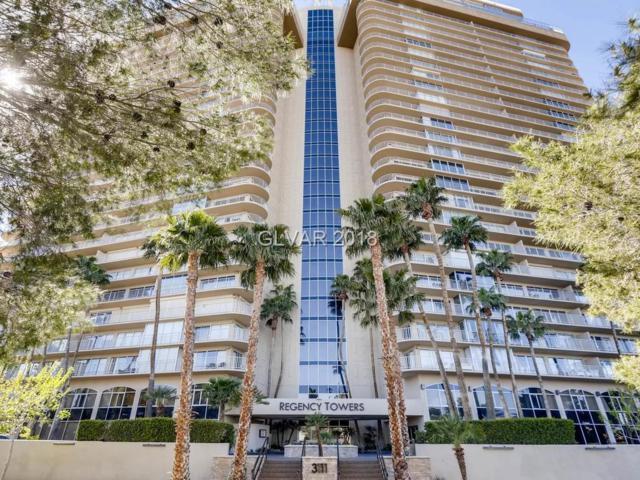 3111 Bel Air 15C, Las Vegas, NV 89109 (MLS #2052419) :: Sennes Squier Realty Group
