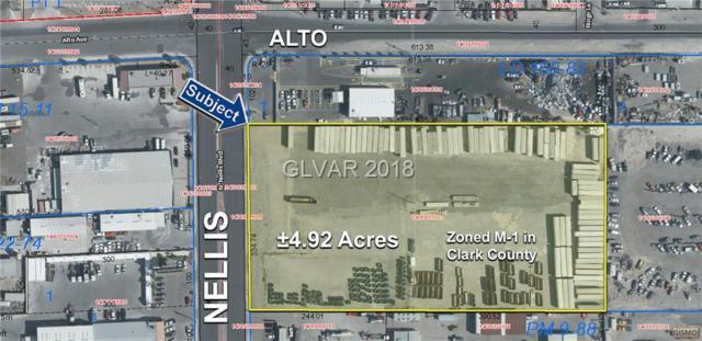 4.92 Acres On Nellis Blvd, Las Vegas, NV 89156 (MLS #2052908) :: Trish Nash Team