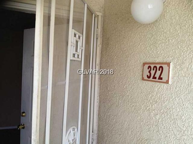 698 Racetrack #322, Henderson, NV 89015 (MLS #2053374) :: Sennes Squier Realty Group