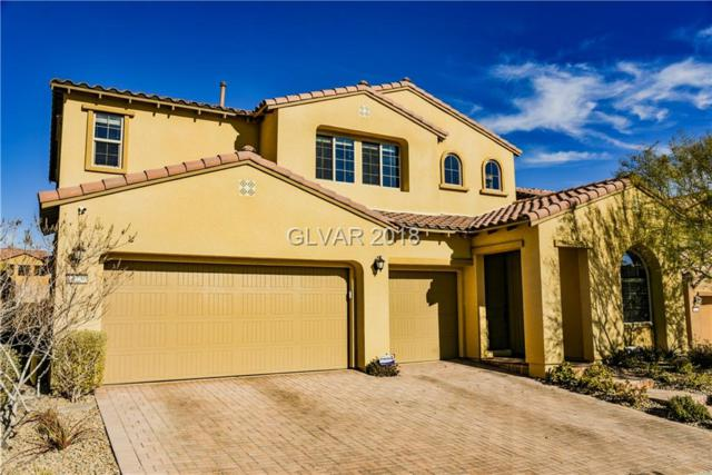 12230 Monument Hill, Las Vegas, NV 89138 (MLS #2053421) :: The Snyder Group at Keller Williams Marketplace One