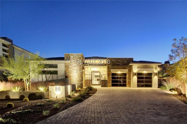 86 Glade Hollow, Las Vegas, NV 89135 (MLS #2053765) :: The Snyder Group at Keller Williams Marketplace One
