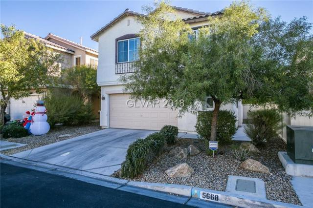 5668 African Lilly, Las Vegas, NV 89130 (MLS #2054415) :: Signature Real Estate Group