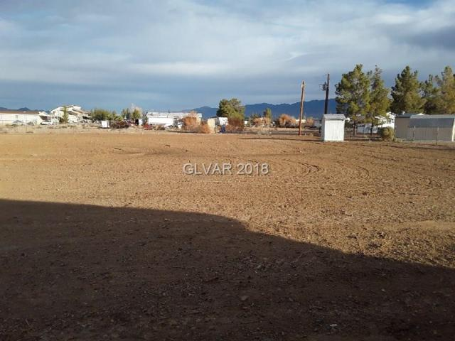 1700 E Heritage, Pahrump, NV 89048 (MLS #2054416) :: Signature Real Estate Group