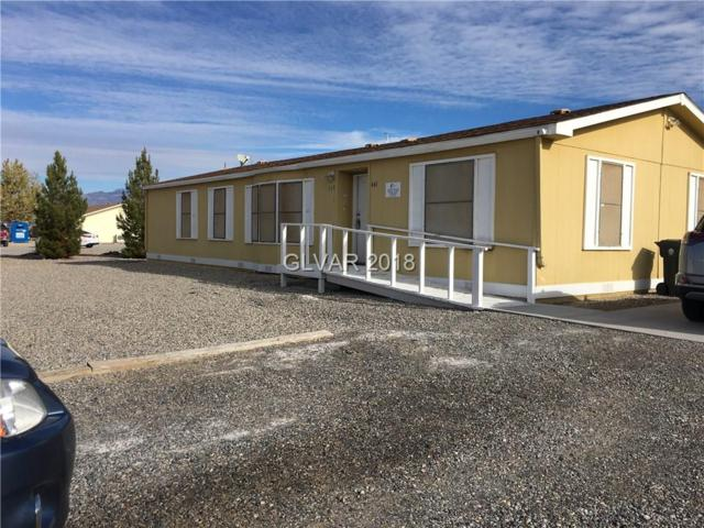 661 S Blagg, Pahrump, NV 89048 (MLS #2054566) :: The Lindstrom Group
