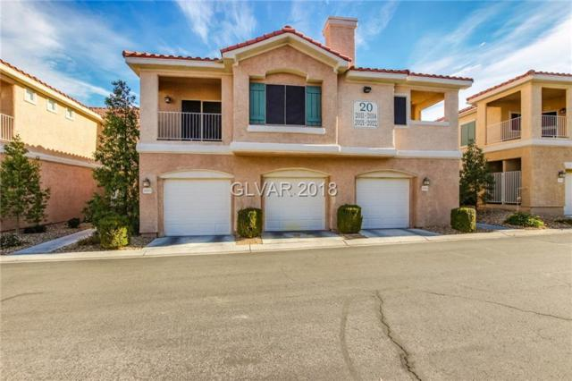 251 Green Valley Parkway #2013, Henderson, NV 89052 (MLS #2054580) :: The Snyder Group at Keller Williams Marketplace One