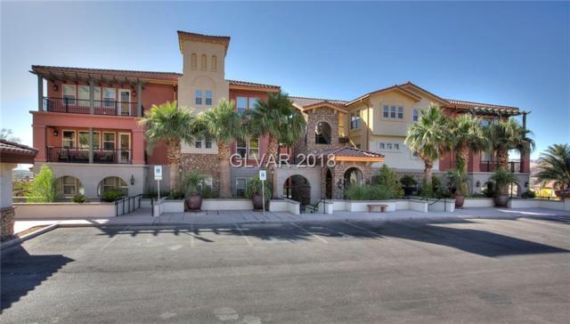 64 Strada Principale #105, Henderson, NV 89011 (MLS #2054617) :: Signature Real Estate Group