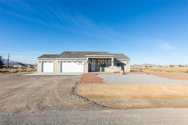 2620 S Olivido, Pahrump, NV 89061 (MLS #2054915) :: Trish Nash Team