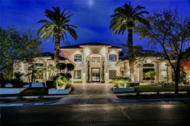 1420 Iron Hills, Las Vegas, NV 89134 (MLS #2055104) :: The Snyder Group at Keller Williams Marketplace One