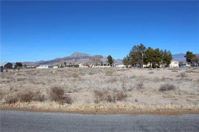 3110 W Pittman, Pahrump, NV 89060 (MLS #2055273) :: Vestuto Realty Group