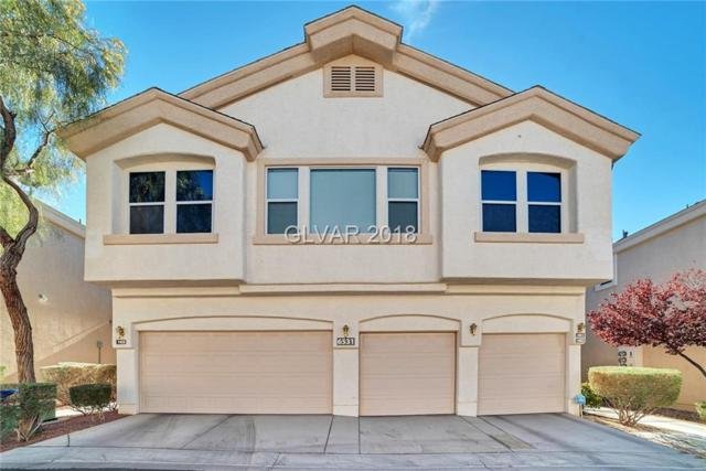 6531 Ozzie Harriet #102, Las Vegas, NV 89122 (MLS #2055530) :: The Snyder Group at Keller Williams Marketplace One