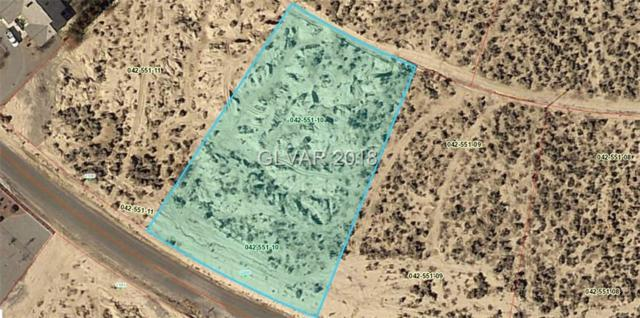 2200 E Cactus St, Pahrump, NV 89048 (MLS #2055872) :: The Snyder Group at Keller Williams Marketplace One