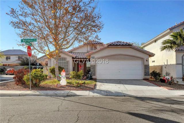 4467 Wellsboro, Las Vegas, NV 89147 (MLS #2055883) :: ERA Brokers Consolidated / Sherman Group