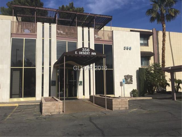 356 E Desert Inn #222, Las Vegas, NV 89109 (MLS #2056398) :: The Snyder Group at Keller Williams Marketplace One