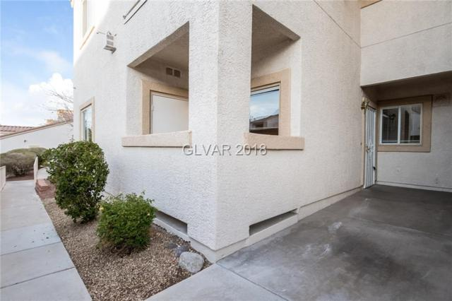 855 Stephanie #1716, Henderson, NV 89014 (MLS #2056657) :: The Snyder Group at Keller Williams Marketplace One