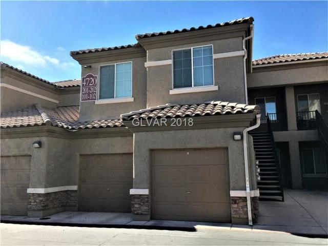 4720 Centisimo #102, North Las Vegas, NV 89084 (MLS #2056856) :: Vestuto Realty Group