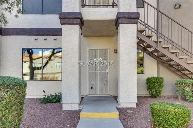 1575 Warm Springs #1212, Henderson, NV 89014 (MLS #2056882) :: The Snyder Group at Keller Williams Marketplace One