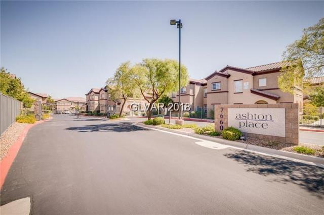 7660 Eldorado #215, Las Vegas, NV 89113 (MLS #2057717) :: Sennes Squier Realty Group