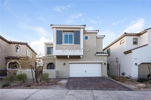 1101 Strada Pecei, Henderson, NV 89011 (MLS #2057937) :: Vestuto Realty Group
