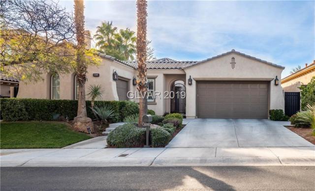 3295 Mission Creek, Las Vegas, NV 89135 (MLS #2058700) :: The Snyder Group at Keller Williams Marketplace One