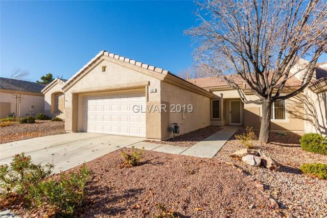 407 Golden State, Henderson, NV 89012 (MLS #2058962) :: The Snyder Group at Keller Williams Marketplace One