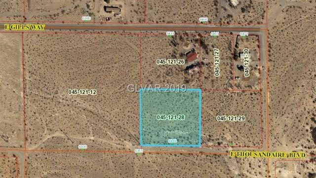 6410 E Thousandaire, Pahrump, NV 89061 (MLS #2059184) :: The Snyder Group at Keller Williams Marketplace One
