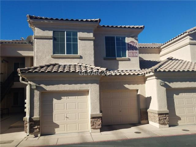 4705 Apulia #203, North Las Vegas, NV 89084 (MLS #2059523) :: Sennes Squier Realty Group