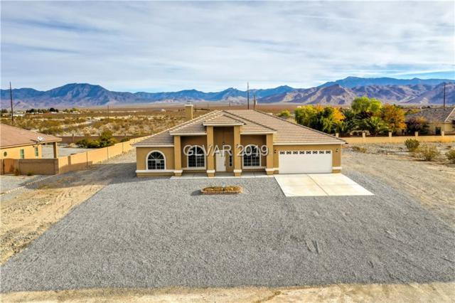2070 S Cortina, Pahrump, NV 89048 (MLS #2061098) :: The Snyder Group at Keller Williams Marketplace One