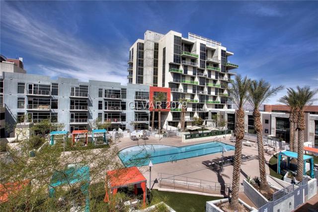 353 Bonneville #437, Las Vegas, NV 89101 (MLS #2062359) :: The Snyder Group at Keller Williams Marketplace One