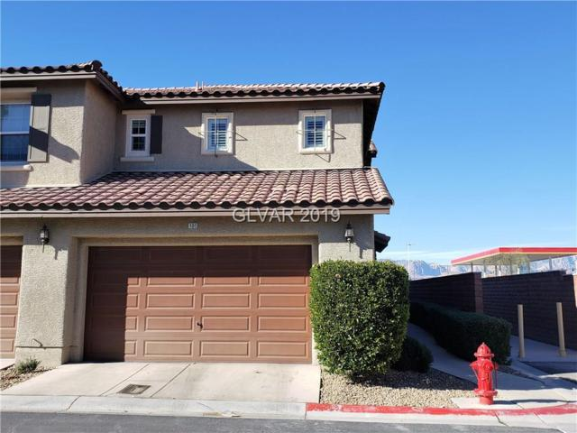 8491 Classique #101, Las Vegas, NV 89178 (MLS #2062556) :: Signature Real Estate Group