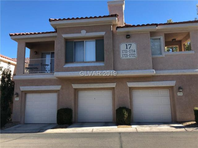 251 Green Valley #1713, Henderson, NV 89052 (MLS #2063094) :: The Snyder Group at Keller Williams Marketplace One