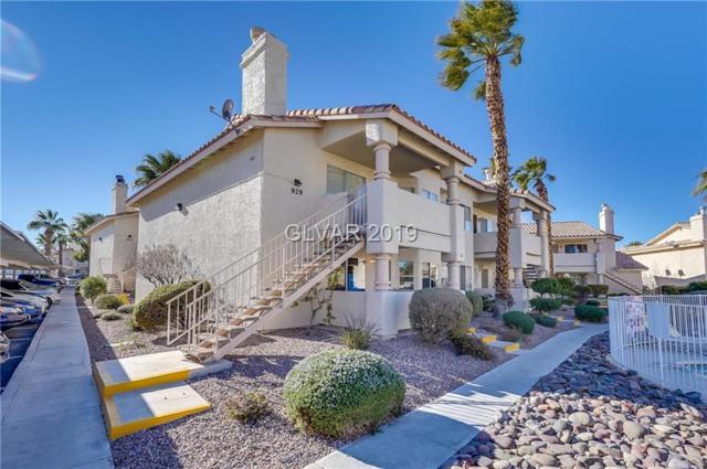 929 Falconhead #102, Las Vegas, NV 89128 (MLS #2063253) :: Nancy Li Realty Team - Chinatown Office