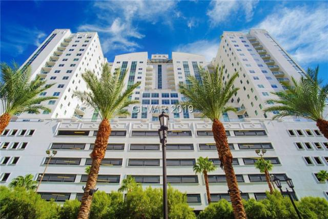 150 N Las Vegas #1811, Las Vegas, NV 89101 (MLS #2063506) :: The Snyder Group at Keller Williams Marketplace One