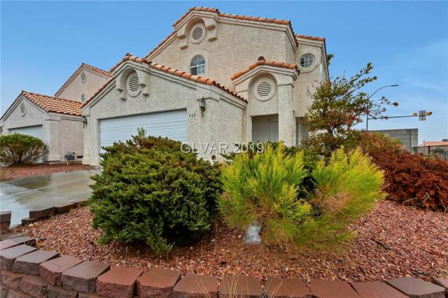 468 Roland Wiley, Las Vegas, NV 89145 (MLS #2063613) :: ERA Brokers Consolidated / Sherman Group