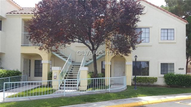 4819 Torrey Pines #101, Las Vegas, NV 89103 (MLS #2064771) :: The Snyder Group at Keller Williams Marketplace One