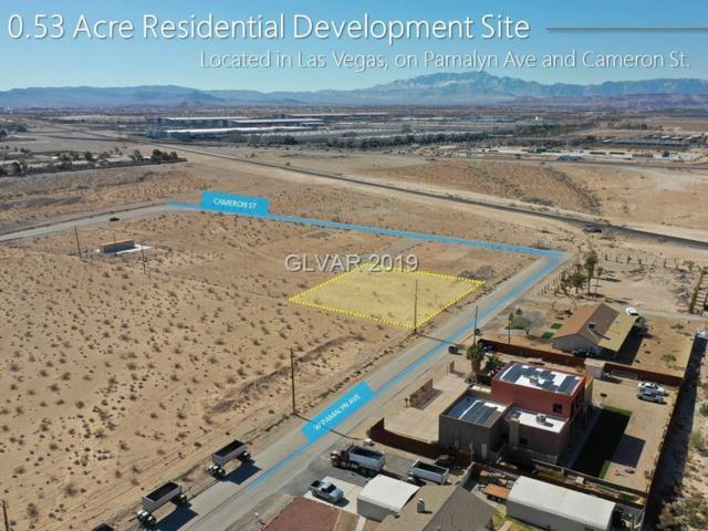 Cameron St And Pamalyn Ave, Las Vegas, NV 89118 (MLS #2065450) :: The Snyder Group at Keller Williams Marketplace One