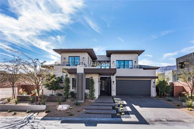 53 Sun Glow, Las Vegas, NV 89135 (MLS #2065952) :: The Snyder Group at Keller Williams Marketplace One