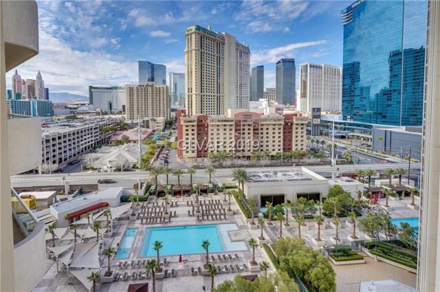 135 E Harmon #1021, Las Vegas, NV 89109 (MLS #2066649) :: The Snyder Group at Keller Williams Marketplace One