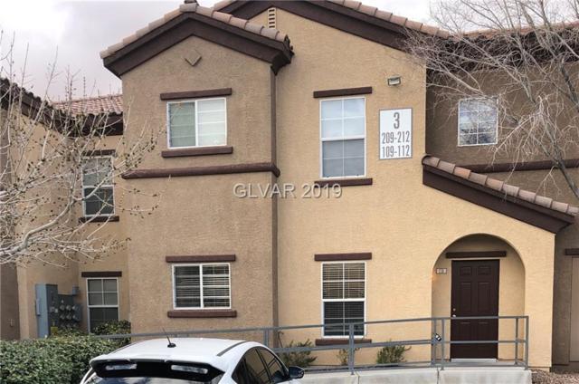 7660 Eldorado #110, Las Vegas, NV 89113 (MLS #2067341) :: Sennes Squier Realty Group
