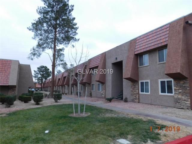5140 Indian River #312, Las Vegas, NV 89103 (MLS #2067679) :: The Snyder Group at Keller Williams Marketplace One